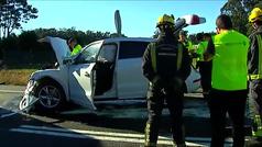 Fallece una niña de 3 años que se golpeó con una tablet al tener un accidente el coche de sus padres