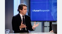 Entrevista a José María Aznar, ex presidente del Gobierno