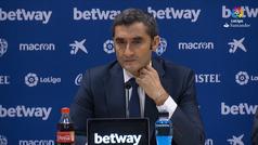 Valverde hace una valoración sobre el juego del Barça contra el Levante