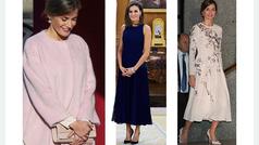Letizia y su vestido 'low cost'