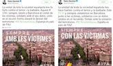 Pedro Sánchez rectifica y añade el escudo y la bandera españoles en...