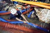 Muere un buzo en las tareas de rescate de los niños de la cueva de...