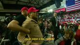 Así fue la agresión a un cámara de la BBC durante un mitin de...