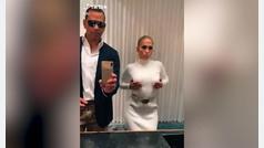 El baile viral de Jennifer Lopez y su prometido
