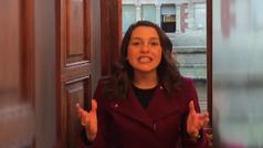 Inés Arrimadas anuncia en Twitter que irá a Waterloo y el Gobierno dice que es una insensatez