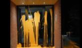 Arran pinta la vivienda del juez Llarena en Sant Cugat