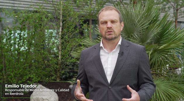 Emilio Tejedor, responsable de Medio Ambiente y Calidad de Iberdrola Biodiversidad