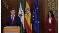 Juanma Moreno toma posesión como presidente de Andalucía
