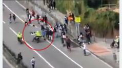 La Policía atropella a varios jóvenes en el día del skate