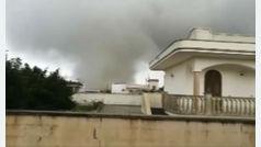 Un tornado causa devastación en la zona del bajo Salento, Italia