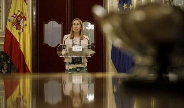 """Ana Pastor tras el bloqueo de los presupuestos de Pedro Sánchez: """"Lo que tratamos es de cumplir con la legalidad"""""""