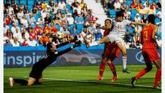 España empata ante China y espera a EEUU en los primeros octavos de final de su historia