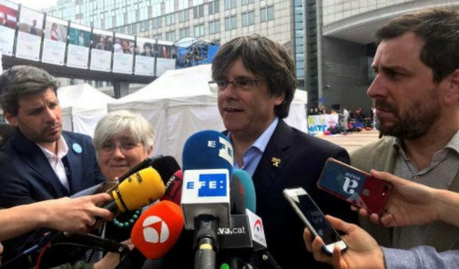 El Parlamento Europeo deniega acreditaciones provisionales a Puigdemont y Comín