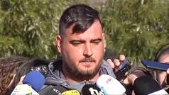 """El padre de Julen, emocionado: """"Mi mujer está rota"""""""