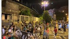 La afición del C.D. Castellón celebra el ascenso de su equipo a Segunda División diez años después