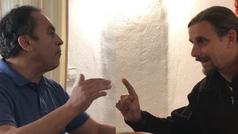 Debate entre un miembro de Vox y otro del Síndicato Andaluz de Trabajadores (SAT)