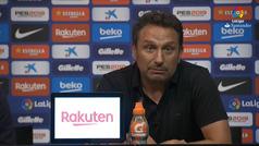 Valverde y Eusebio opinan sobre el Barça-Girona