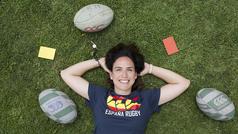 Doce más una: entrevista a Alhambra Nievas, árbitro de rugby