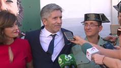 """Grande-Marlaska, sobre los audios de Delgado con Villarejo: """"El Gobierno es un equipo fuerte y consolidado"""""""