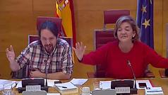 Pablo Iglesias y el popular Luis Aznar recitan 'La venganza de Don Mendo' en el Senado