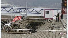 """El PP de Vigo ya había alertado de que el paseo marítimo estaba en """"situación de peligro"""""""