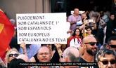 Empresaris de Catalunya presenta el vídeo 'Together' en el Parlamento...