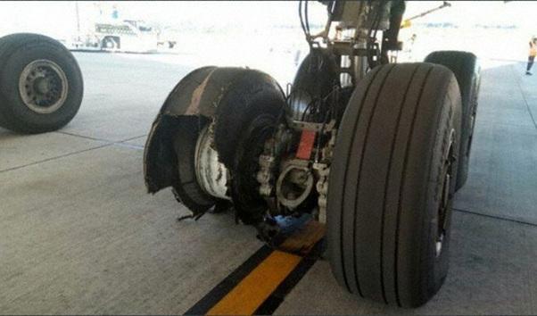 Brusco aterrizaje de un avión que volaba de Madrid a Quito
