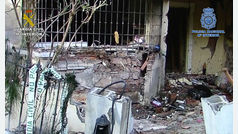 Detenidos tres sicarios como autores de dos atentados con explosivos el pasado mes de octubre en Málaga