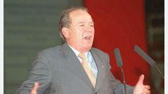 Muere Josep Lluís Núñez, presidente del Barcelona durante 22 años