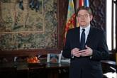 Mensaje de fin de año de Ximo Puig, presidente de la Generalidad de...