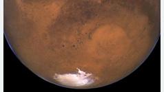 Marte tiene un gran lago subterráneo de agua salada