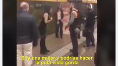 Una mujer agrede a un vigilante en el metro de Barcelona