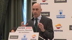 Rubiales propone una nueva Supercopa con formato 'final four' en una ciudad fuera de España
