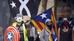 El turismo desciende en Cataluña tras la violencia en las calles