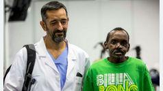 El último milagro de Cavadas: reconstruye el rostro de un keniano atacado por una hiena
