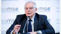 Josep Borrell compara el viaje de los eurodiputados a Venezuela con los de Puigdemont por Europa
