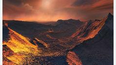 Descubren una 'supertierra' helada en la estrella vecina Barnard