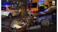 Un vehículo atropella a una familia en el centro de Madrid