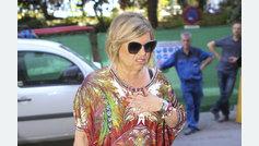 Terelu vuelve a Madrid para someterse a un drenaje