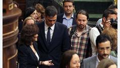 """Pablo Iglesias ve """"cutre"""" que Pedro Sánchez copie párrafos en su libro y pide que dé explicaciones"""