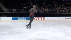 Reina del hielo con 14 años por una pirueta histórica