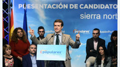 """Pablo Casado asegura que el PP ha evitado que España se arruinara """"por tercera vez"""""""