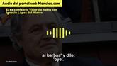 Villarejo habla con López del Hierro sobre Bárcenas
