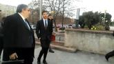 Xabi Alonso entra a declarar en la Audiencia Provincial de Madrid