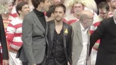 La Fura dels Baus censura a los dos trabajadores que lucieron lazos amarillos frente a los Reyes en el Teatro Real