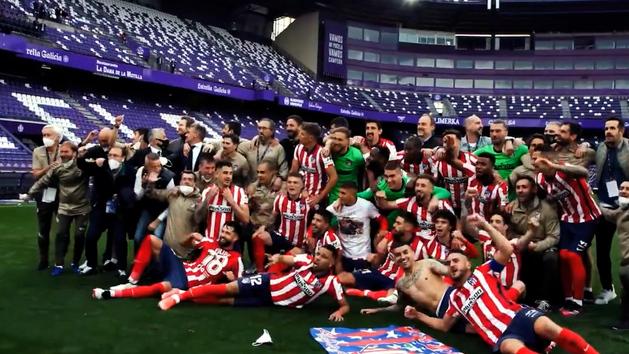 El vídeo conmemorativo de Atlético de Madrid por su victoria en la Liga