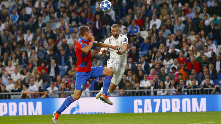 b86daf3668637 Champions League (J3)  Resumen y goles del Real Madrid 2-1 Viktoria Plzen  Movistar+