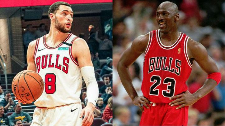 Confirmación Productivo Norma  NBA: El 'ingrávido' Zach LaVine (44+10+8) se sitúa a la altura de Michael  Jordan en los Bulls | Marca.com