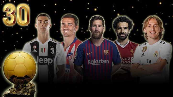 Balón de Oro 2018  La lista oficial de los 30 nominados al Balón de ... 4fcb38138b985