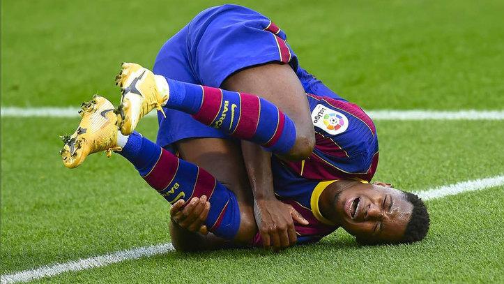 FC Barcelona: Grave lesión de Ansu Fati: rotura del menisco interno de su  rodilla izquierda | Marca.com